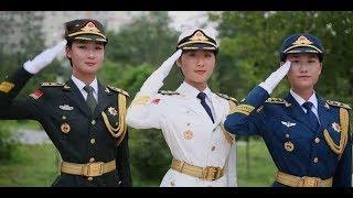 共軍女儀隊 解放軍儀仗隊女兵 中國女兵 大陸女兵