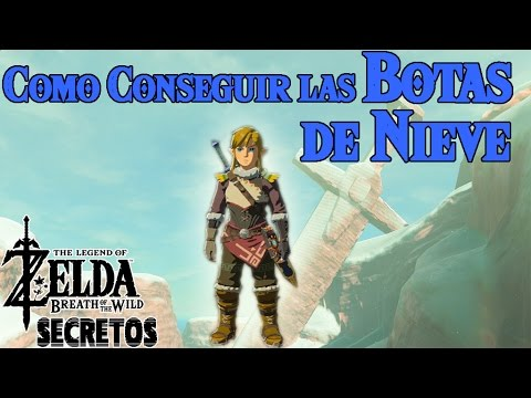 Secretos y Trucos de Zelda Breath of the Wild #35 | Como conseguir las Botas de Nieve