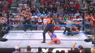 Sting vs Kurt Angle for the World Championship