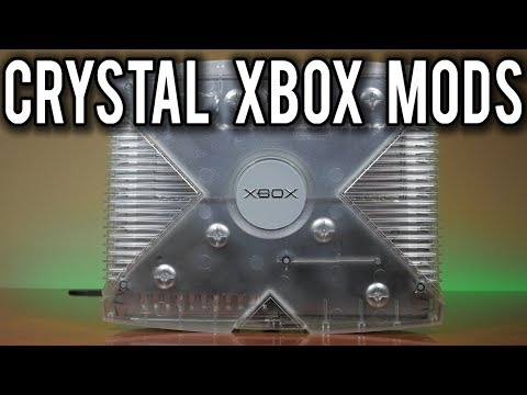 Modding An Original PAL Crystal Xbox Special Edition Console To Work In North America | MVG Mp3