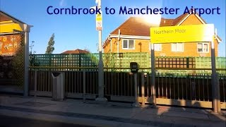 preview picture of video 'Manchester Metrolink - Cornbrook to Manchester Airport'