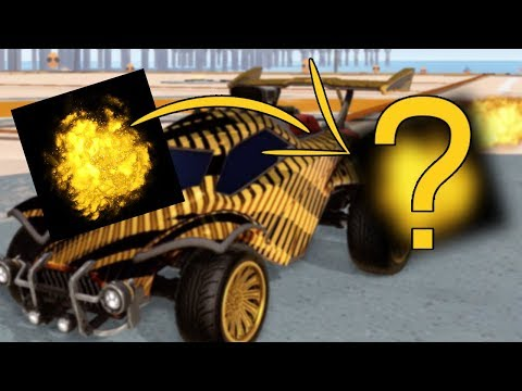 MY ROCKET LEAGUE DREAM CAR! | White Hat, Goldstone Wheels
