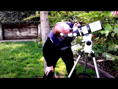 Gskyer Refractor 400 X 80mm Dual speed Slow Motion Mount Telescope Review