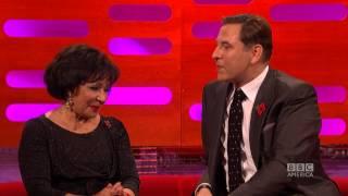 "David Walliams Seduces Dame Shirley Bassey With ""Moonraker"" - The Graham Norton Show on BBC America"