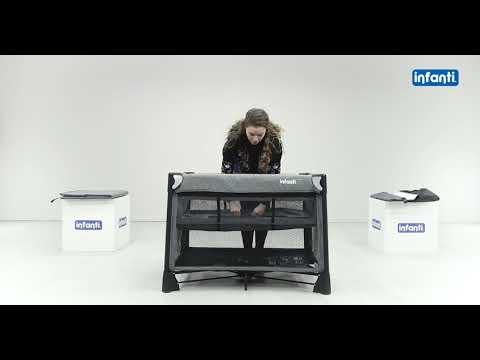 Practicuna Luna 2 en 1 Infanti Bordó video
