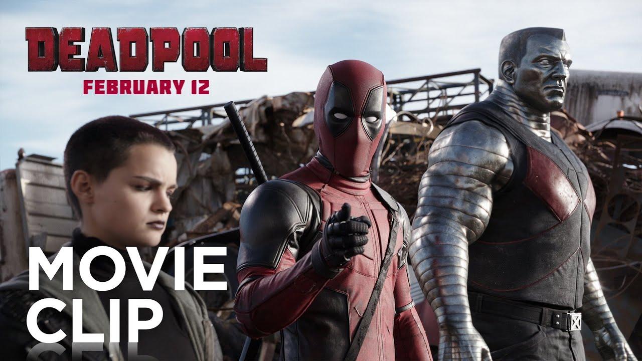 Deadpool - 2 Girls 1 Punch