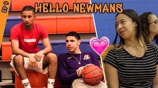 LaMelo Ball Talks TRASH To Julian Newman! Jaden Newman Is NERVOUS! Julian & His GF Break Up!?