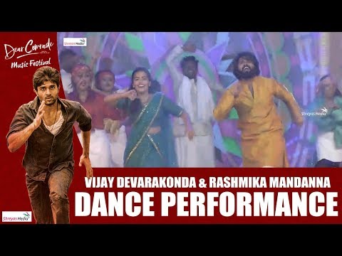 Vijay Deverakonda - Rashmika Dance Performance