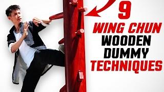 9 Wing Chun Dummy Training Techniques (Mook Jong)