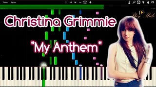 """Christina Grimmie - """"My Anthem"""" Synthesia"""