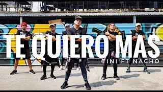 TE QUIERO MAS by Tini ft Nacho | Zumba | Latin Pop | Kramer Pastrana