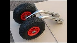 Колесец транцевые колеса