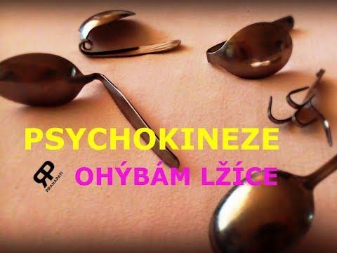 Psychokineze #1.1 - Ohýbám lžíce