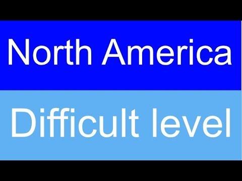 Flags of North America quiz - Level: Difficult