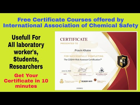 Free Certificate courses by The International Association of ...