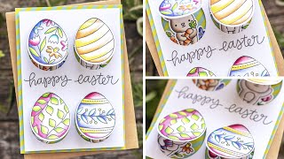 Peek-A-Boo Easter Card By Pretty Pink Posh