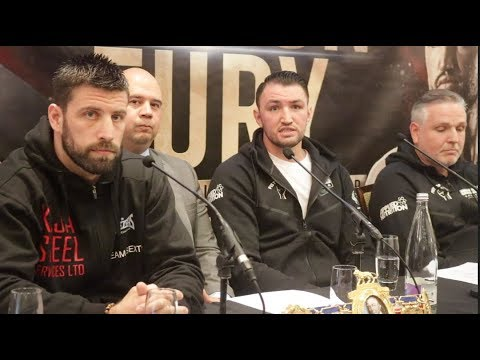 SAM SEXTON v HUGHIE FURY (FULL & COMPLETE) PRESS CONFERENCE W/ PETER FURY & GRAHAM EVERETT