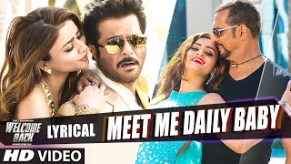 'Meet Me Daily Baby' Full Song with LYRICS   - YouTube