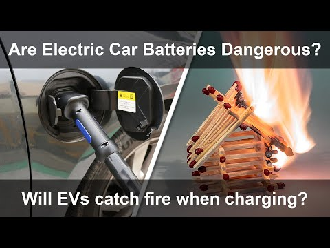 Do EVs Catch Fire When Charging?