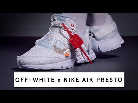 the best attitude 40636 7883c OFF-WHITE x Nike Air Presto (white)   Review