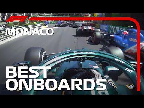 2021年F1モナコGPのベストオンボードをまとめた動画 貴重なF1モナコGP動画