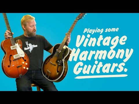 Vintage Harmony Guitars - they have their charms but are they worth it? #Roadcase se03ep09