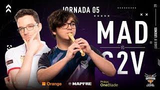 MAD LIONS E.C. VS S2V ESPORTS | Superliga Orange League Of Legends | Jornada 5 | Temporada 2019