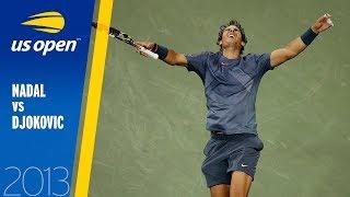 Rafael Nadal vs Novak Djokovic | US Open 2013 Final | Full Match