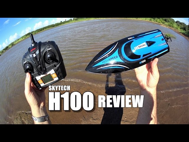SKYTECH  H100 Racing Boat Review - [Water Run, Pros & Cons]