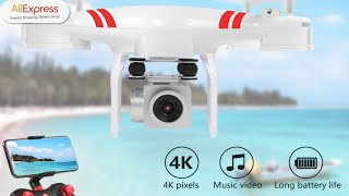2020 New Drone 4k camera HD Wifi transmission fpv drone air pressure fixed height four axis aircraft