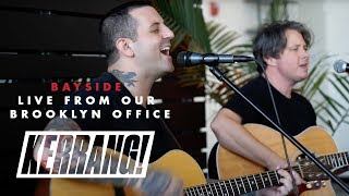 BAYSIDE: Live Acoustic Set in Kerrang!'s Brooklyn Office