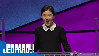 Teen Tournament Contestant Emma   JEOPARDY!