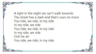 Hot Chip - You Ride We Ride In My Ride Lyrics