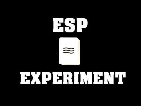 Kompletní shoda | ESP Experiment!