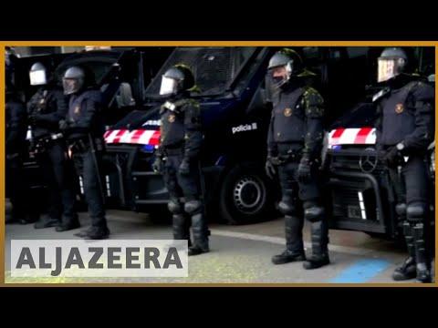Catalonia independence bid struggles as more leaders arrested | Al Jazeera English