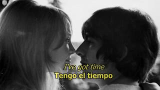 I want to tell you - The Beatles (LYRICS/LETRA) [Original]