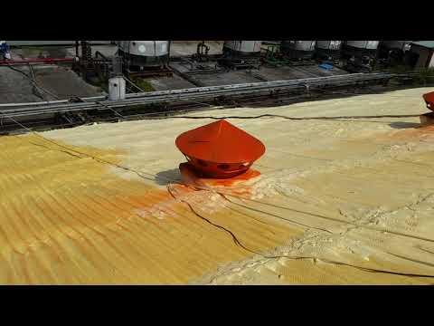 屋頂發泡防水