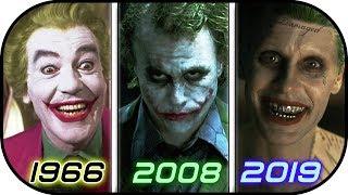 EVOLUTION of JOKER in Movies TV (1966-2019) History of The Joker 2019 / Suicide Squad 2 2019 trailer