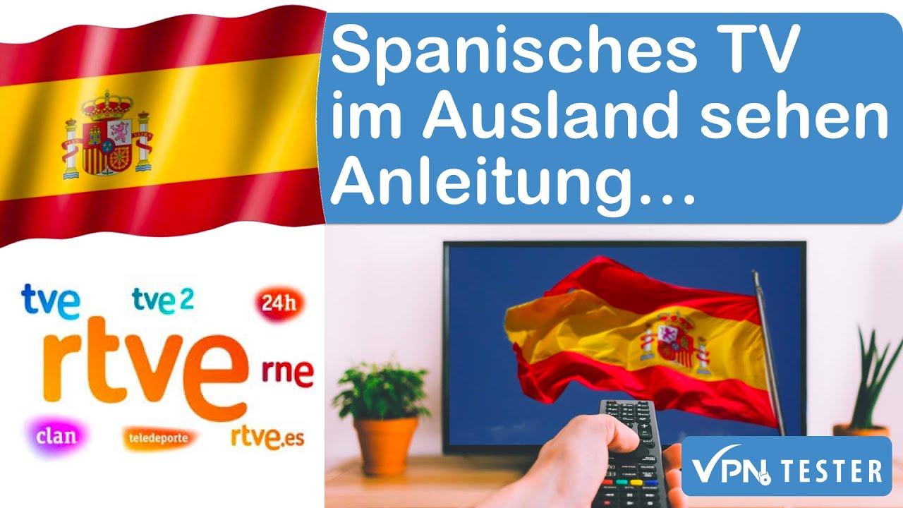 Bekijk Spaanse tv-kanalen (RTVE) in Duitsland. 1e
