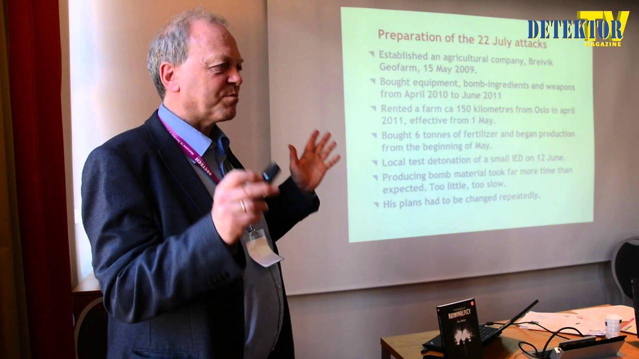 Detektor TV Magazine 4, 2015 – Tore Bjørgo snakker om terrorisme og om A.B. Breivik.