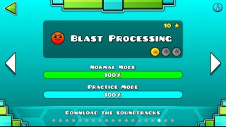 Geometry Dash - Blast Processing 100% Complete