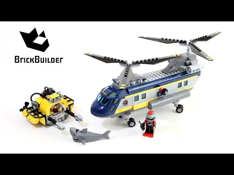 Vidéo LEGO City 60093 : L'hélicoptère de haute-mer
