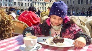 Ксюша Потоцкая едет в Таллин! мини влог! девочка блогер! видео для детей!