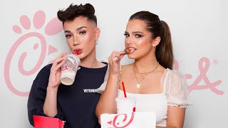Q&A MUKBANG WITH JAMES CHARLES!!