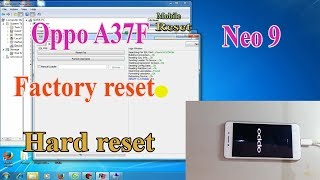 oppo a37 hard reset remove pin pattern lock - hmong video