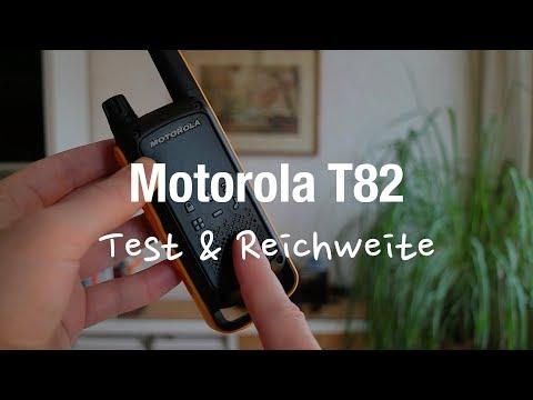 Motorola Talkabout T82 Extreme - PMR Funkgeräte (Test & Reichweite)