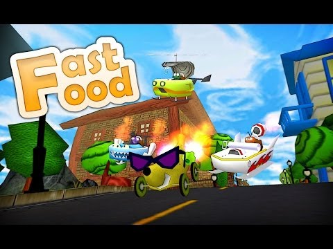 Video of Fast Food 3D Racing