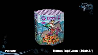 "Салют ""КОНЕК - ГОРБУНОК"" РС6920 (0,8"" х 19) от компании Интернет-магазин SalutMARI - видео"