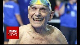 Australian swimmer: 99-year-old 'breaks world record' - BBC News