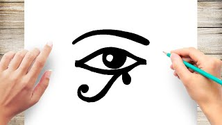 How To Draw Egyptian Eyes